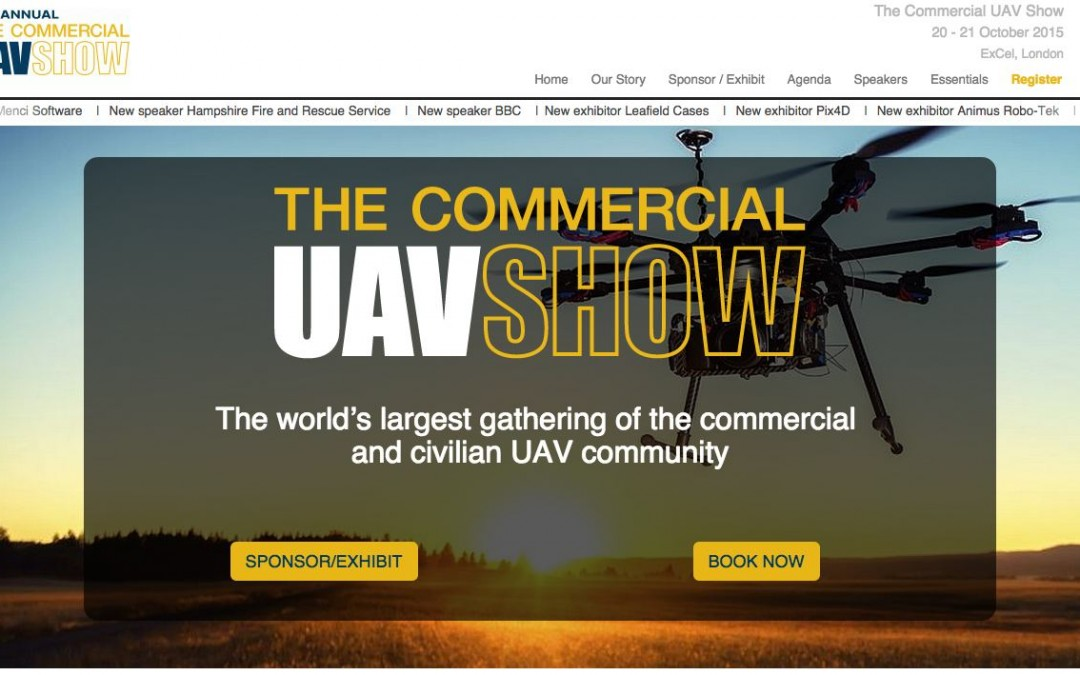 The Commercial UAV Show 2015 (London)