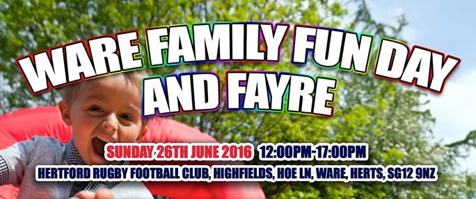 Ware Family Fun Day 2016